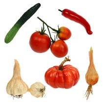 Gemüse Deko