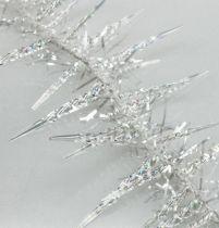 Eis-Zapfengirlande 270cm klar/iris