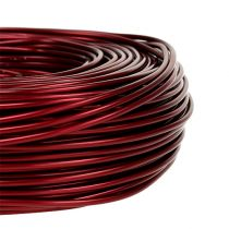 Aluminiumdraht Ø2mm 500g 60m Bordeaux