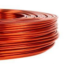 Aluminiumdraht Ø2mm 500g 60m Orange