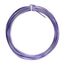 Aluminiumdraht 2mm 100g Lavendel