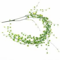 Blattgirlande 87cm Grün Künstlich 2-strängig