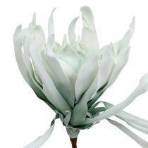 Blütenzweig Foam Weiß, Grün 72cm