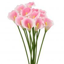 Calla Deko-Blume Rosa 57cm 12St
