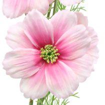 Cosmea künstlich Pink 77cm 3St