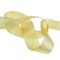 Deko Band Gold verschiedene Breiten 22,5m
