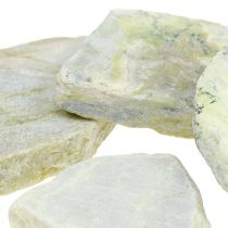 Deko Mosaiksteine Grau-Grün matt 3cm - 8cm 1kg