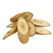 Deko Scheiben aus Holz oval 9-12cm 500g