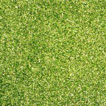 Deko Glimmer Hellgrün 115g