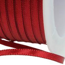 Geschenkband Dekorationsband 3mm x 50m Bordeaux