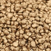 Dekogranulat Gold Deko Kies 2-3mm 2kg