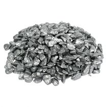 Dekosteine 9mm - 13mm 2kg Silber