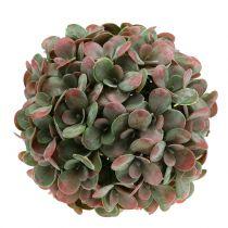 Echeveria Kugel künstlich Grün, Rot Ø22cm