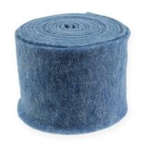 Filzband Blau 15cm 5m