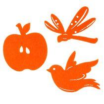 Filz Streudeko Orange 24St