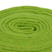 Filzband 7,5cm x 5m Grün