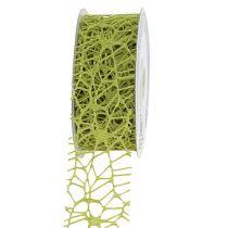 Gitterband Grün 40mm 10m