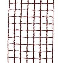 Gitterband 4,5cm x 10m Bordeaux