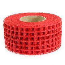Gitterband 4,5cm x 10m Rot