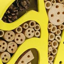 Insektenhotel Rund Gelb Ø25cm