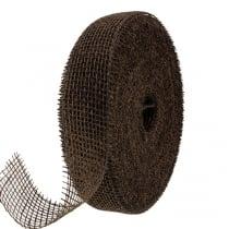 Juteband Braun 5cm 40m