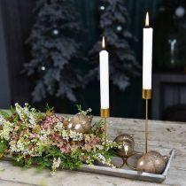 Kerzenständer Gold Tischdeko Metall Für Stabkerze Ø10cm H15cm