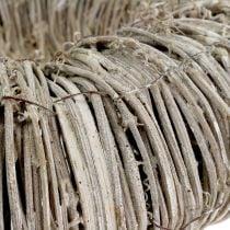 Kranz aus Waldrebe Weiß gewaschen Ø30cm