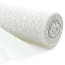 Floristen - Krepppapier weiß 50x250cm