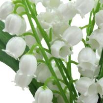 Künstliche Maiglöckchen Weiß 25cm 3St