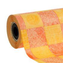 Manschettenpapier Gelb-Orange 25cm 100m