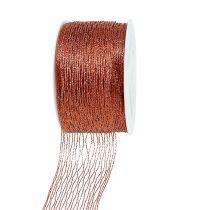 Netzband Kupfer drahtverstärkt 40mm 15m