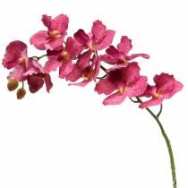 Künstlicher Orchideenzweig Pink H83cm
