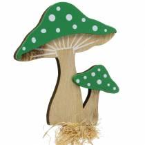 Dekostecker Herbst Pilz sortiert H28cm 12St