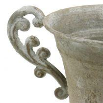 Antik Pokal Grau Ø14,5cm H21cm