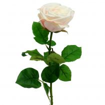 Künstliche Rose Creme 69cm