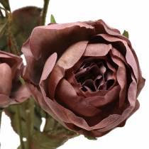 Rosenzweig künstlich Violett 76cm
