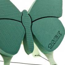 Steckschaum Figur Schmetterling mit Aufsteller 56cm x 40cm