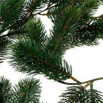 Tannengirlande 182cm Grün für außen und innen