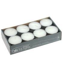 Teelichter maxi Ø58mm 16St Weiß