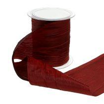 Tischband Bordeaux Crash 100mm 15m