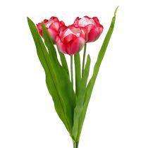Tulpe künstlich Pink 60cm 3St