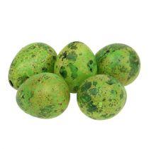Wachtelei 3cm Grün 60St