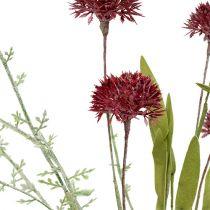 Wiesenblumen Rot L60cm 3St