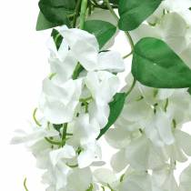Girlande Blauregen Weiß 175cm 2St