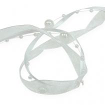 Hochzeitsband Weiß 20mm 5m