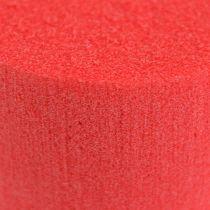 Steckmasse Zylinder Ø8cm Rot 6St