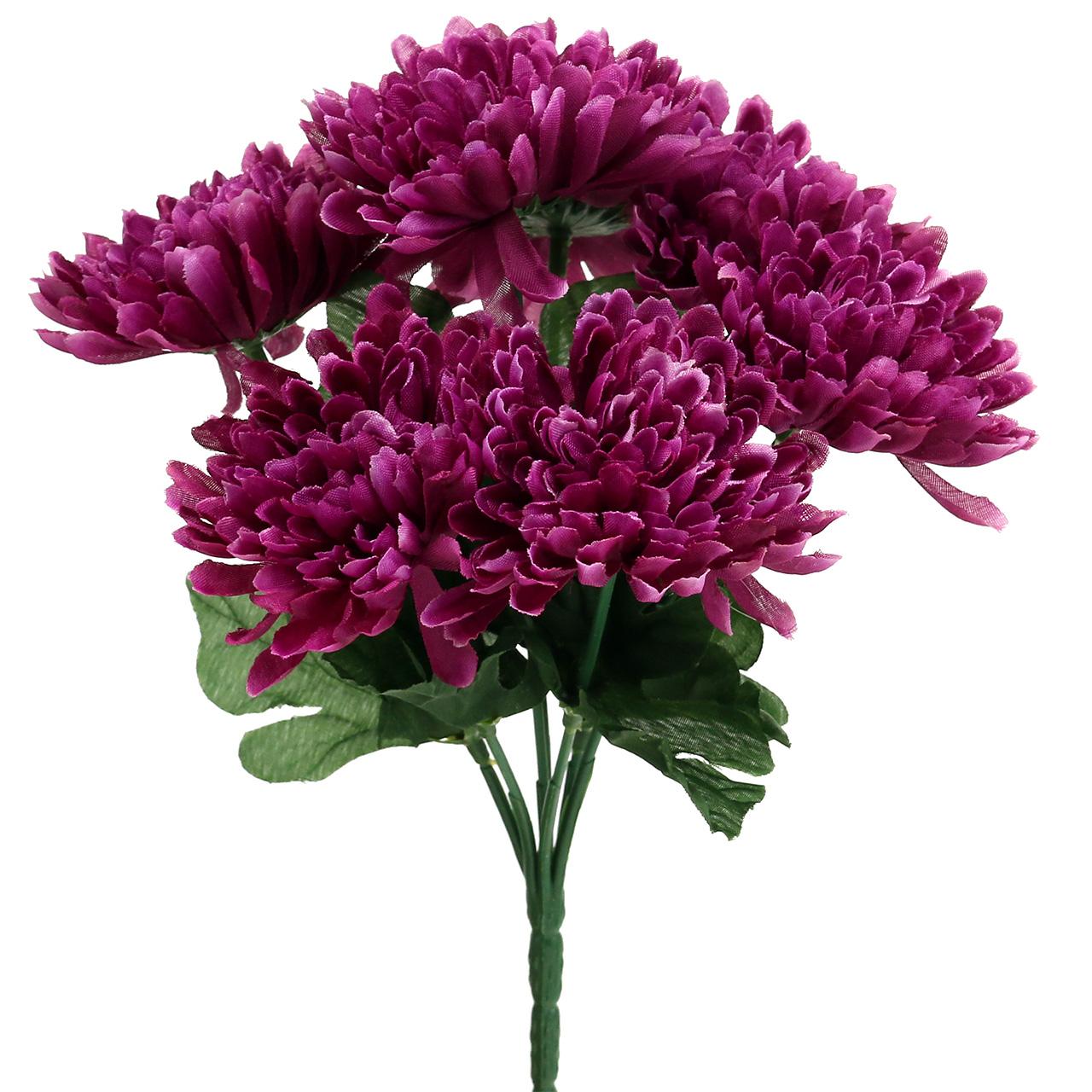 chrysantheme aubergine mit 7 bl ten kaufen in schweiz. Black Bedroom Furniture Sets. Home Design Ideas