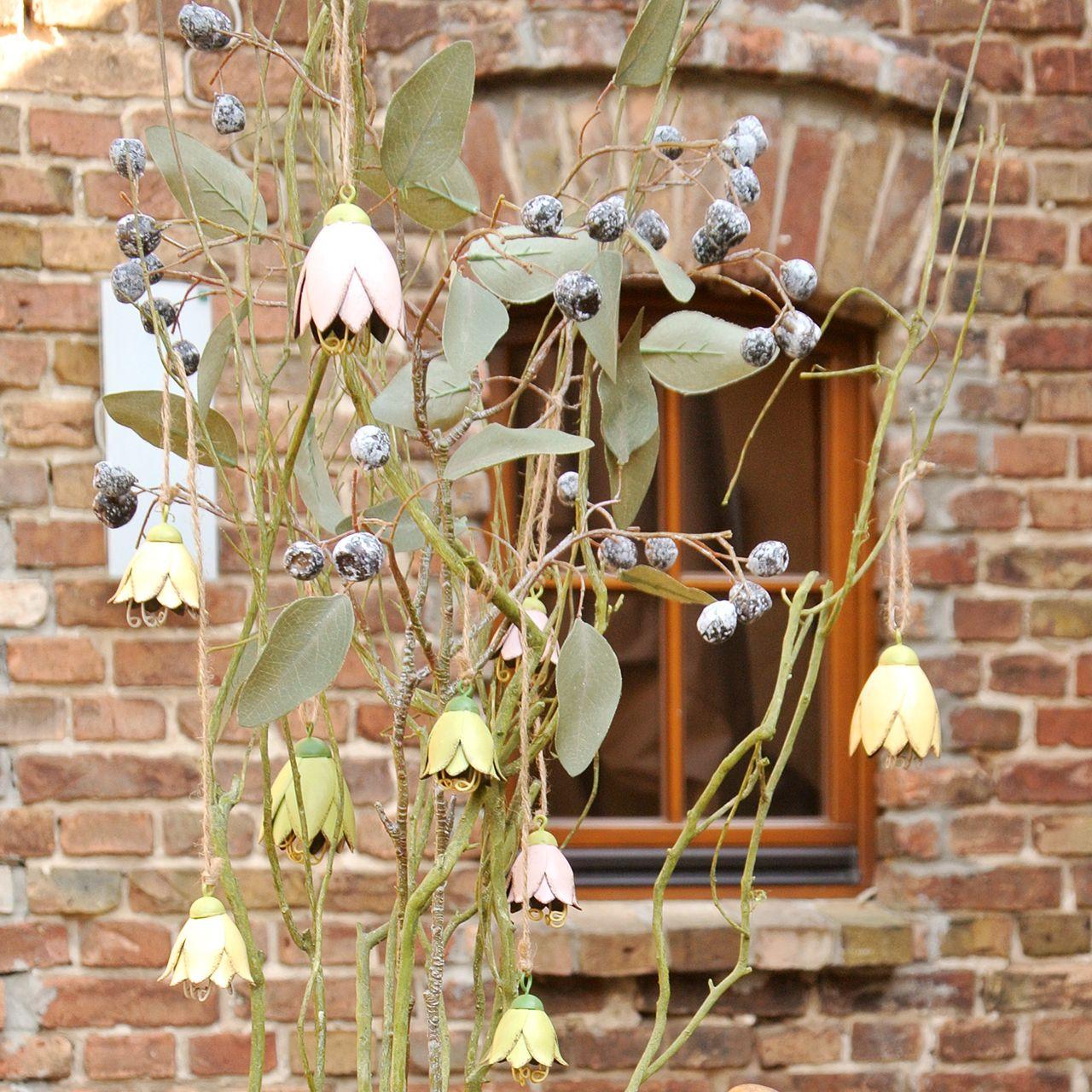 Hängedeko Dekohänger Fensterdeko Holz Schmetterling Sommer rosa blau weiß