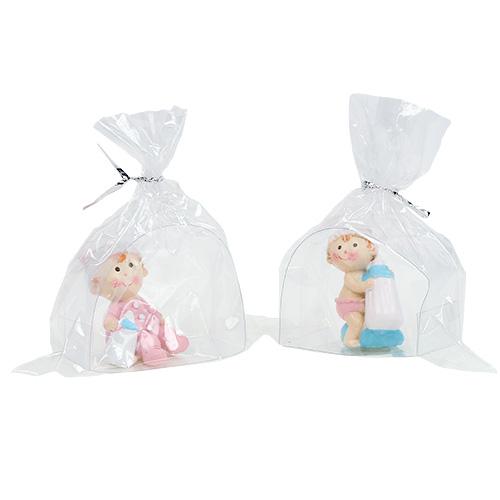 Deko figur baby blau rosa 4 5cm 2st kaufen in schweiz for Baby deko
