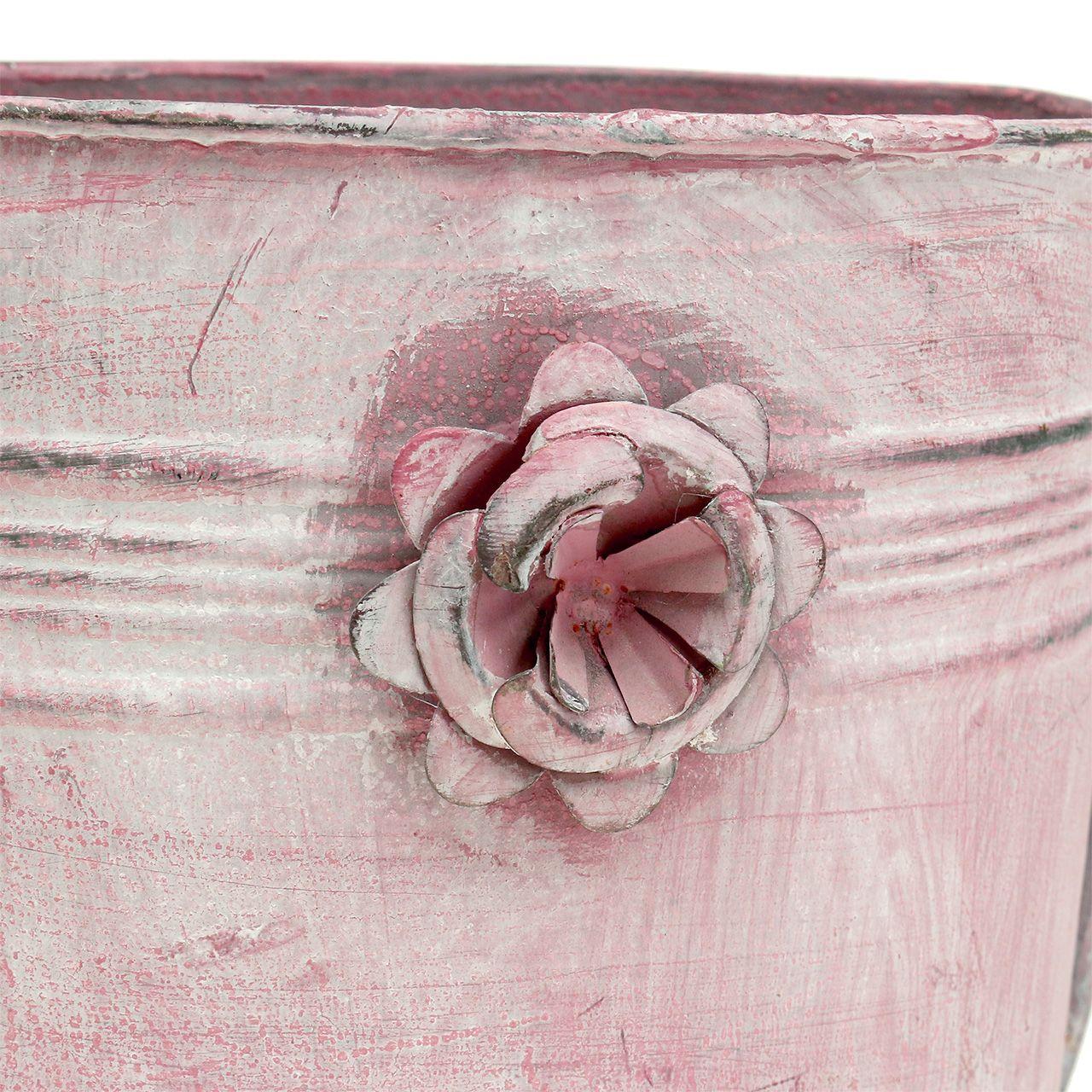 deko gie kanne aus metall rosa l33cm b12cm h29cm kaufen in. Black Bedroom Furniture Sets. Home Design Ideas